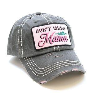 Don't mess with mama baseball cap